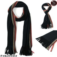 Scarf Scarf, knitting yarn, mixed color, side color department, No.F5Ac25-0102