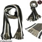 Scarf Two-color yarn scarf No.F5Ac25-0107