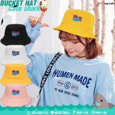 Bucket Shark Bucket Hat Vintage Embroidery Bucket Hat Vintage Style Comfortable Bucket Shark No.F7Ah32-0127
