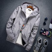 Long Sleeve Hooded Jacket with hood LOCA PEOPLE Sleeveless Sleeve No.317