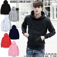 European style solid color hooded sweatshirt No.F5Cs04-0700