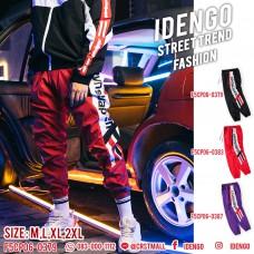 Long pants, umbrella fabric, jump legs, stripe screen with 3 colors, cool cool pants No. F5Cp06-0379