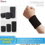 Sweat-wicking wrist band during exercise. Neon fabric is available in 10 colors. No.F5Aa35-0081