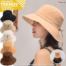 Bucket Hat Linen cloth String NO. F5Ah32-0146