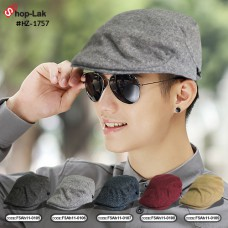 Vintage Cap Hat, Ding Dong Cloth Side is adjustable in 5 colors HZ-1757  Black / Gray / Department / Red / Cream