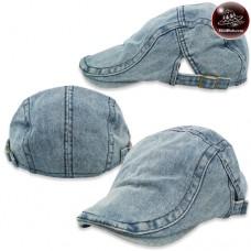 Vintage hat, hats, jeans, flat cap, flat cap, fashion hat, jeans, side, belt, 3 colors H-208