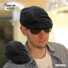 Black hat, black corduroy The fabric inside is a soft sponge, comfortable to wear. No F5Ah11-0071.
