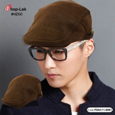 Brown hat The fabric is soft and comfortable foam sponge No F5Ah11-0061.