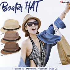MJ MESH WEAVE LEATHER MICHAEL'S HAT TRADITIONAL STYLE HATS, PRETTY, CUTE, NO. F5AH12-0074
