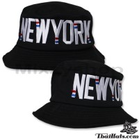 """Bucket Hat embroidered """"NEW YORK"""""""