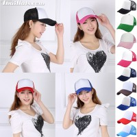Sponge cap in the back is a white front mesh is SNAP BACK for the side of the product has a total of 9 colors.