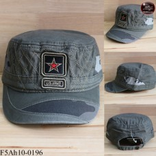 JAPAN Military Helmet, Red Star, Camouflage Hat The back is adjustable seat belt No.F5Ah10-0196.