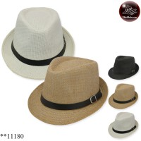 MJ hat with belt Michael's hat weave Leather belt No.11180