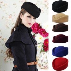 Hats, capsule, hairdressers, woolen products, the product has 6 colors.