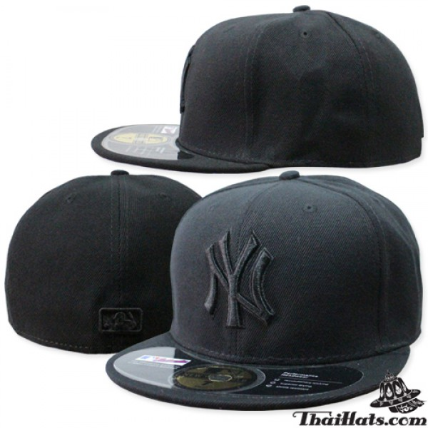 HIPHOP full hat, HIPHOP NY hat, black embroidery, 3 SIZE products, No.F1Ah47-0350