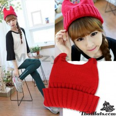 Knitting Hat Knitting Bear Knitting hat Cat Ear Hat