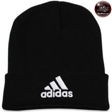 Black adidas knit cap