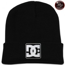 Black DC knit cap