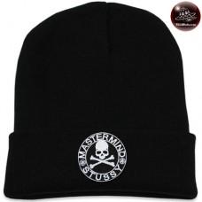 Black STUSSY knit cap
