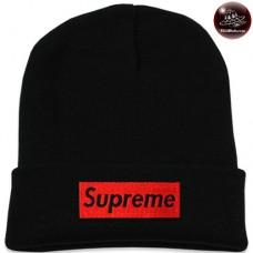 Black SUPREME knit cap