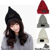 Knitted hat with SPORT cap, head cap, Freesize cap with 4 colors.