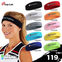 "Headband 100% Champion ""Champion"" Comfortable fit with 10 colors No.F7Aa35-0074"
