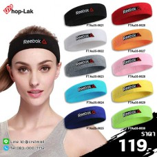 """Headband sweater ADIDAS / Leafy headband embroidered """"Reebok"""" 100% comfortable fit with 10 colors No.F7Aa35-0021"""