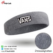 """Headband embroidered sweater """"VANS"""" is flexible. 100% cotton fabric is comfortable to wear. There are 10 colors. No.F7Aa35-0051"""