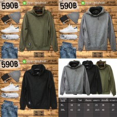 Hooded Hood Long Sleeve Hooded Jacket Long Sleeve Hooded Jacket in 3 sizes, 2 sizes No.T-5428