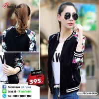 Fashion sweater Women's Black Jacket Sleeve Jumper No.F5Cs04-0535