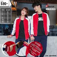 Baseball Jacket, Red Umbrella, White Arm The blue band on the sleeve has 6 size No.F5Cs04-0542