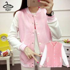 Baseball Jacket Baseball Jacket Pink Baseball Jacket White with 7 Size
