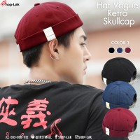 MIKI hat with velcro pattern, leather labeled with 3 colors, can be resized. MIKi CAP Hat No.F5Ah31-0056