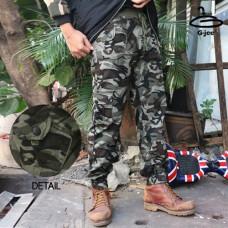 Long legged trousers Long Leg Under Waist Leg Cuffs with Side Pockets, Freesize Size 1680 No.5Cp06-0242