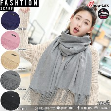 "Cotton scarf one colour tone ""#Cashmere*CN $"
