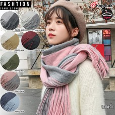 Two-color scarf.Scarf Have 7 color No.F5Ac52-0025