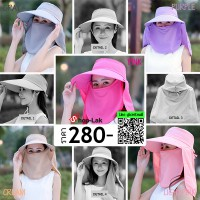 Caddy Hat Cover Sun visor in front of the hat is divided into 6 colors