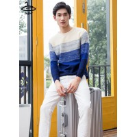 Men's Long Sleeve Knit Dress The art is more outstanding than anyone has 4 size No.F5Cs27-0103