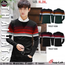Long Sleeve Knit Long Sleeve Knit Shirt with 2 Colors No.F5Cs27-0208