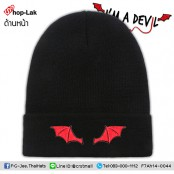 Fashion hat Colosseum Embroidery Hat Devil/ Red Wing  No.F7Ah14-0044