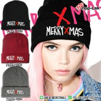 Fashion hat MERRY XMAS Embroidery Hat with 3 colors No.F7Ah14-0015