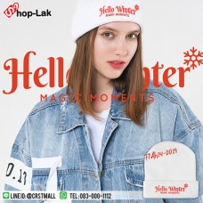 Fashion hat Hello Winter Knitting Hat No.F7Ah14-0019