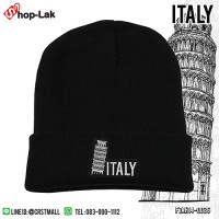 Fashion hat Plaid Embroidery Pisa Leaning Tower / Italy No.F7Ah14-0036